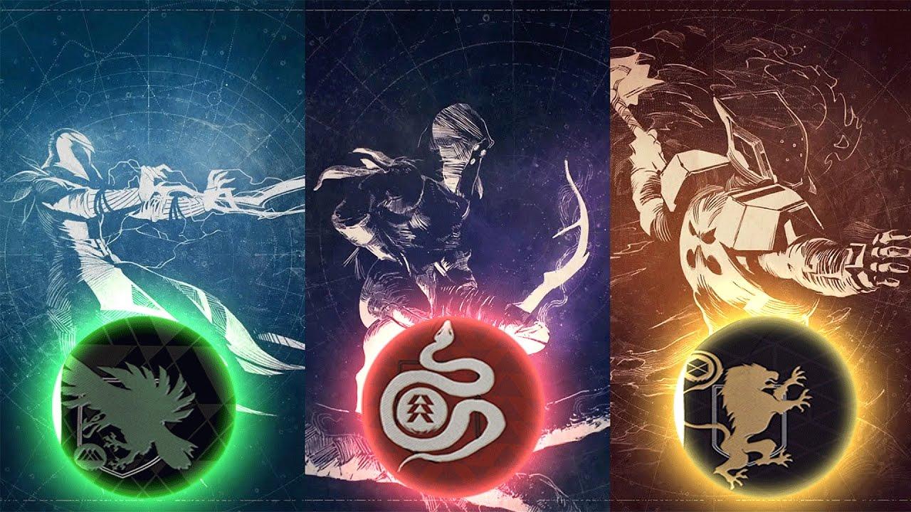 destiny 2 sub classes