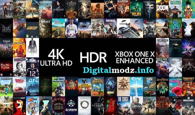 xbox one x 100 game list
