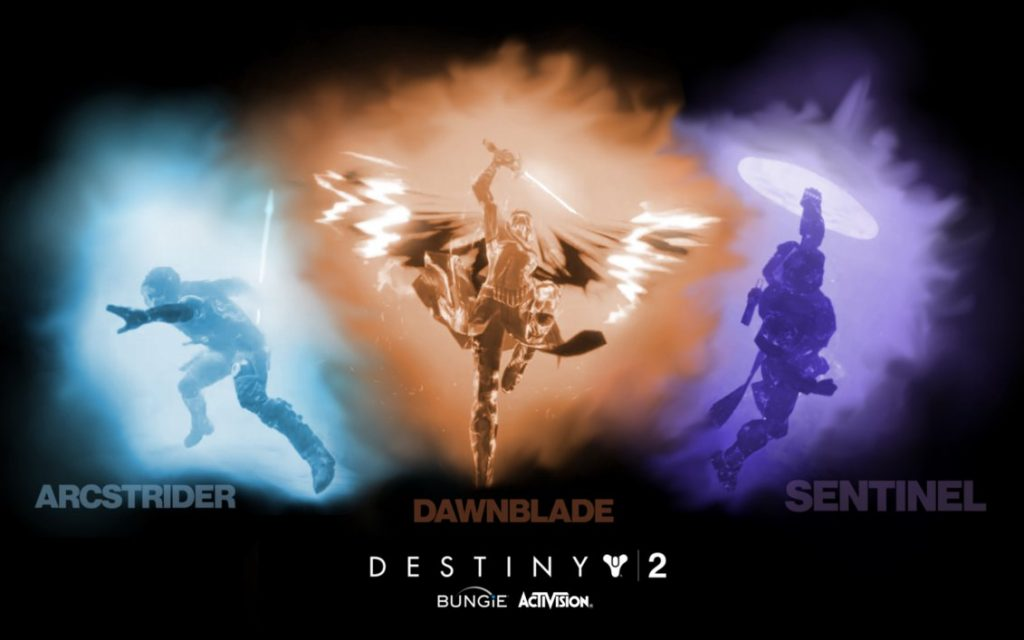 destiny 2 classes