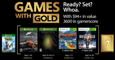 games with gold september 2017