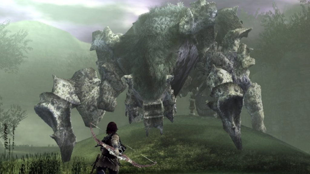 Shadow of the Colossus PS4 Trailer ( Upscaled to 4k ) Tokyo Game Show 2017 ps4 playstation