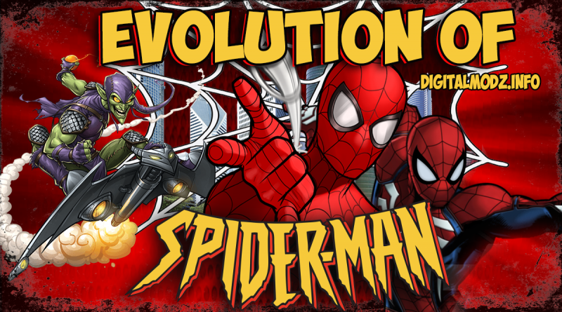 marvel comics Evolution of Spider-man Games ( 2000 -2018 comparion ) PC , Xbox PS4
