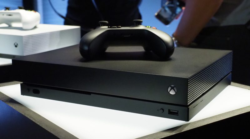 Xbox one x Easter Egg showing Master Chief riding scorpion is hidden inside the new  console