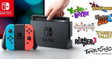 Nintendo Switch Games bonanza- NINE new releases hit the EShop