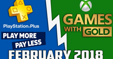 Playstation Plus & Xbox Games With Gold Free Games (February 2018)