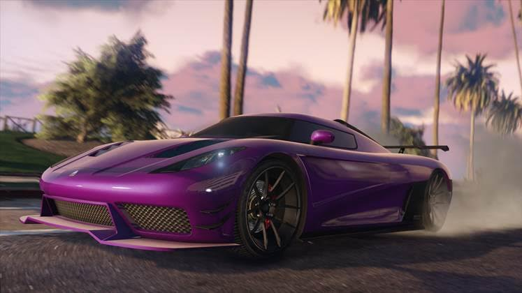 GTA 5 UPDATE 1.27- San Andreas Super Sport Series DLC