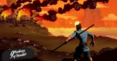 9 Monkeys of Shaolin - Brings Side Scrolling kung fu Brawling Action To Consoles