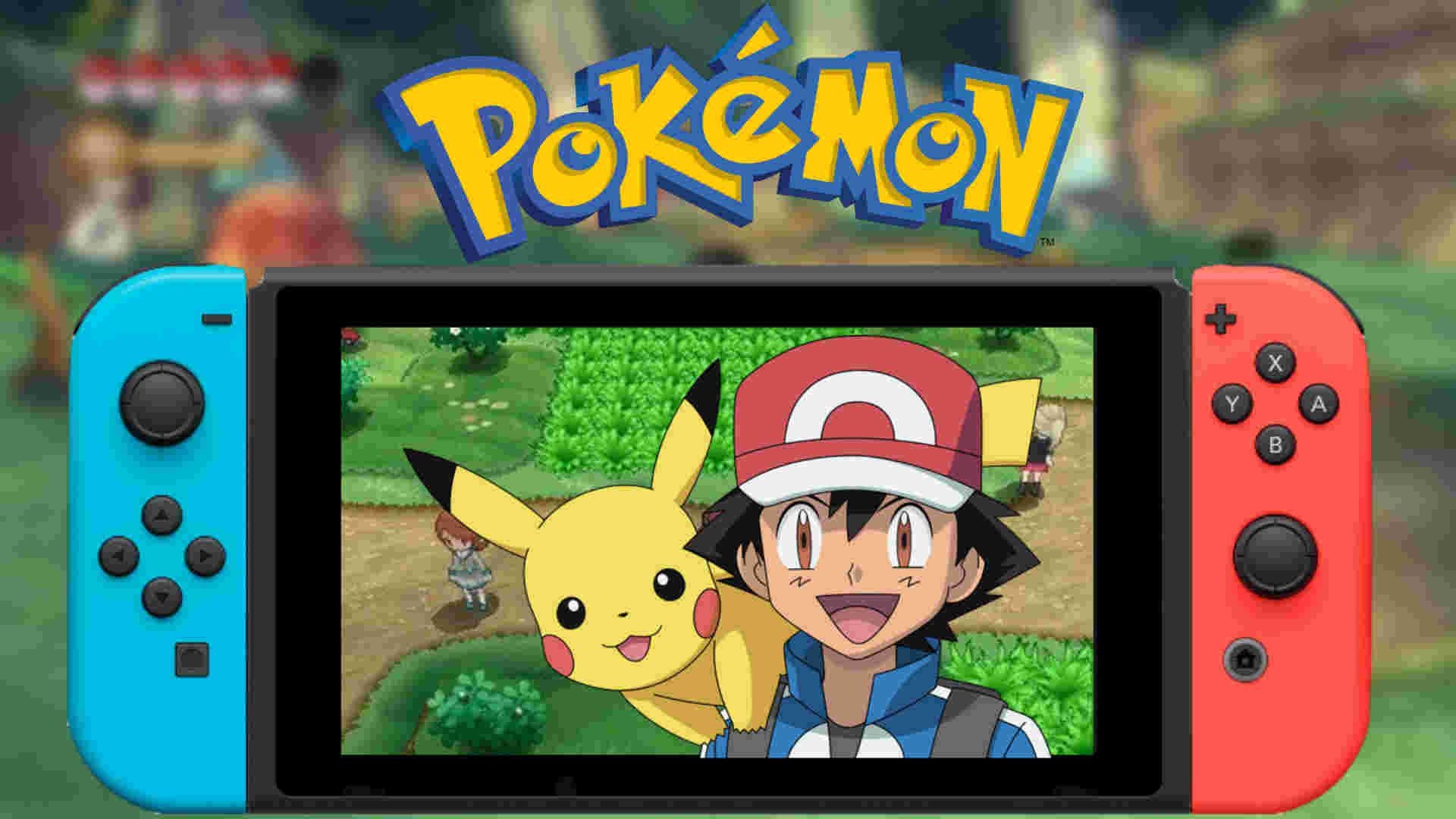 Nintendo Switch Spiele Pokemon