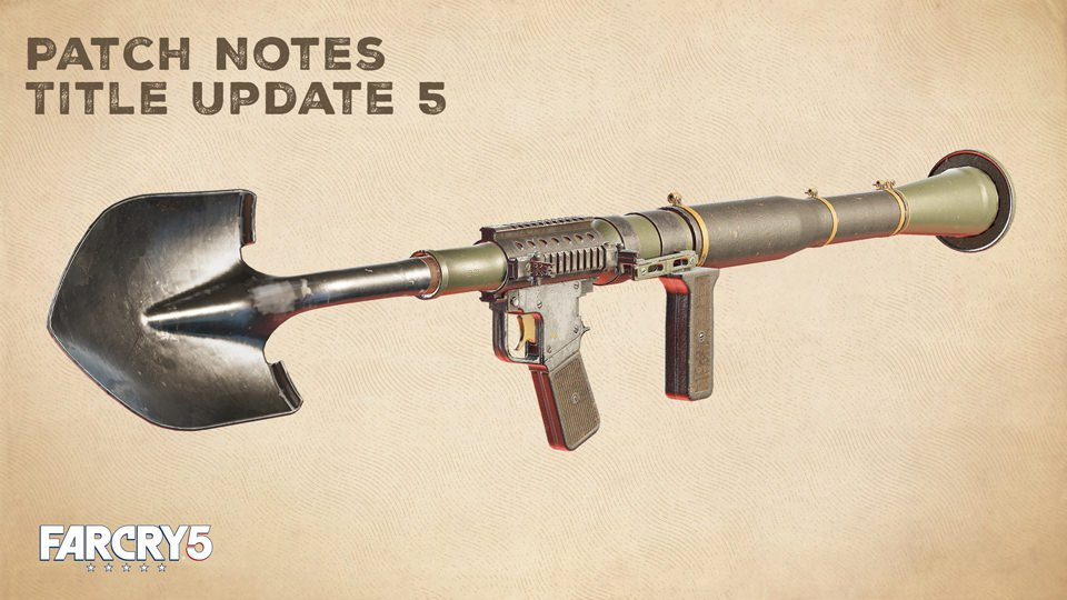 far cry 5 how to collect shovel launcher reward