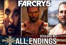 FARCRY 5 New shovel Gun & All alternate Endings - (Walk Away /Resist/Secret)