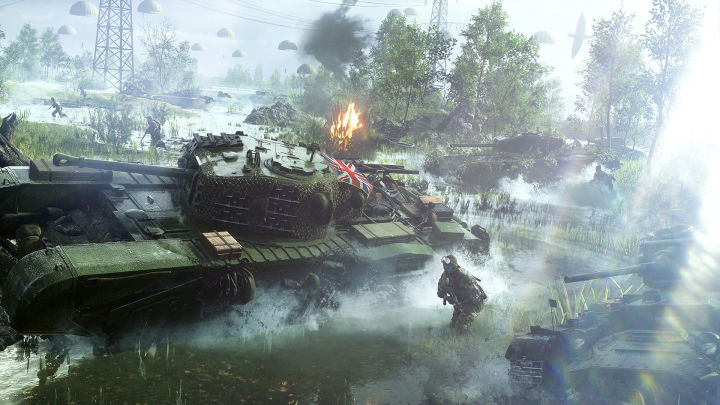 Battlefield v Revealed official trailer returns to World War II