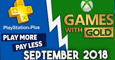 Playstation Plus & Xbox Games With Gold Free Games lineup ( September 2018 )