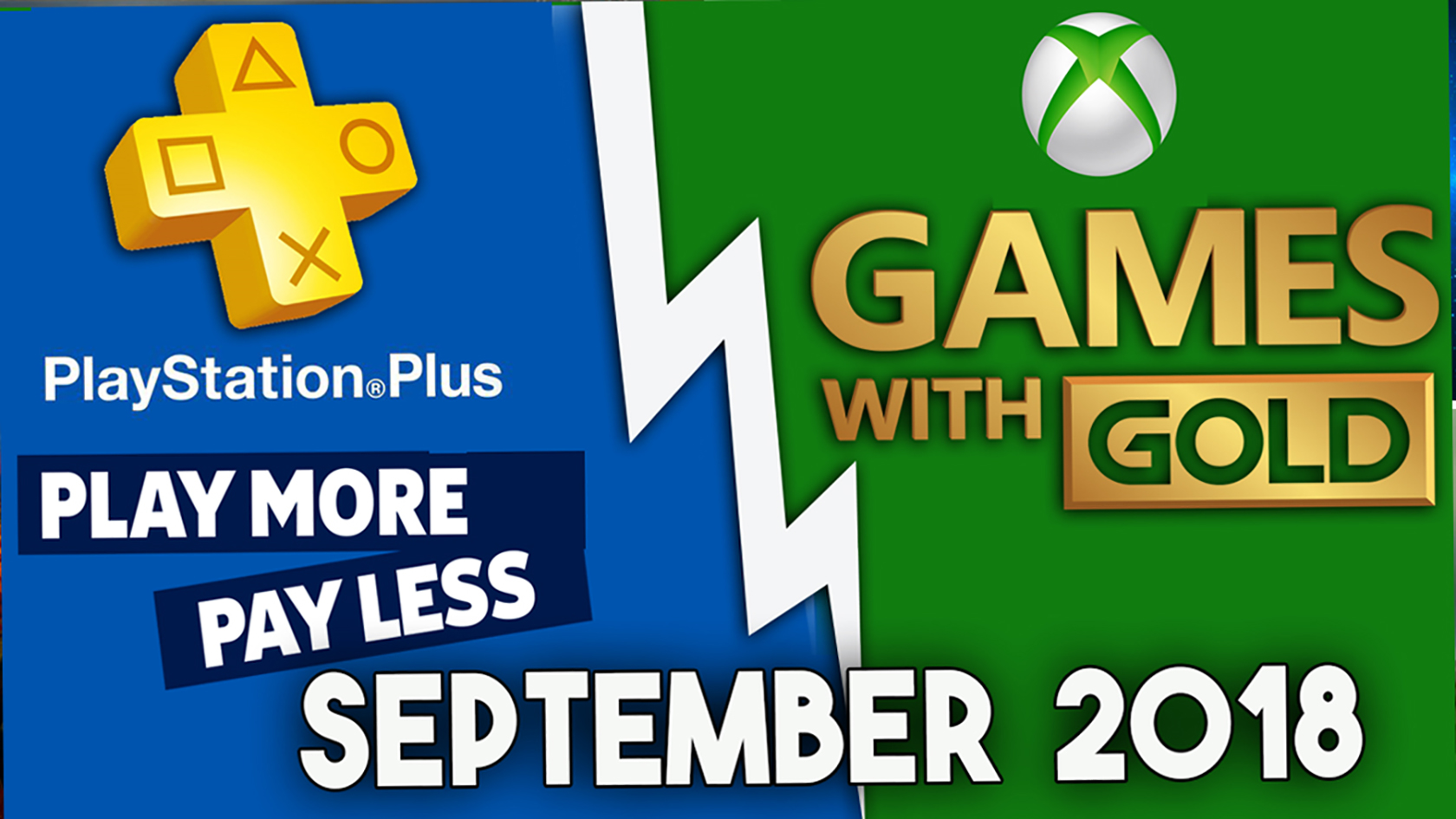 Playstation Plus Games With Gold Games Lineup September
