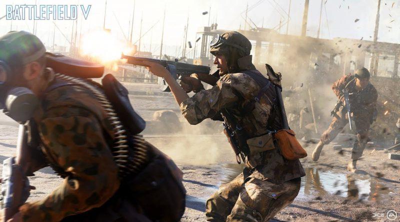 New Battlefield V Trailer For Gamescom: Devastation of Rotterdam