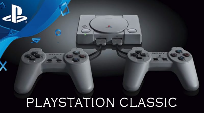 Sony releasing retro video game console titled the PlayStation Classic with 20+ Games