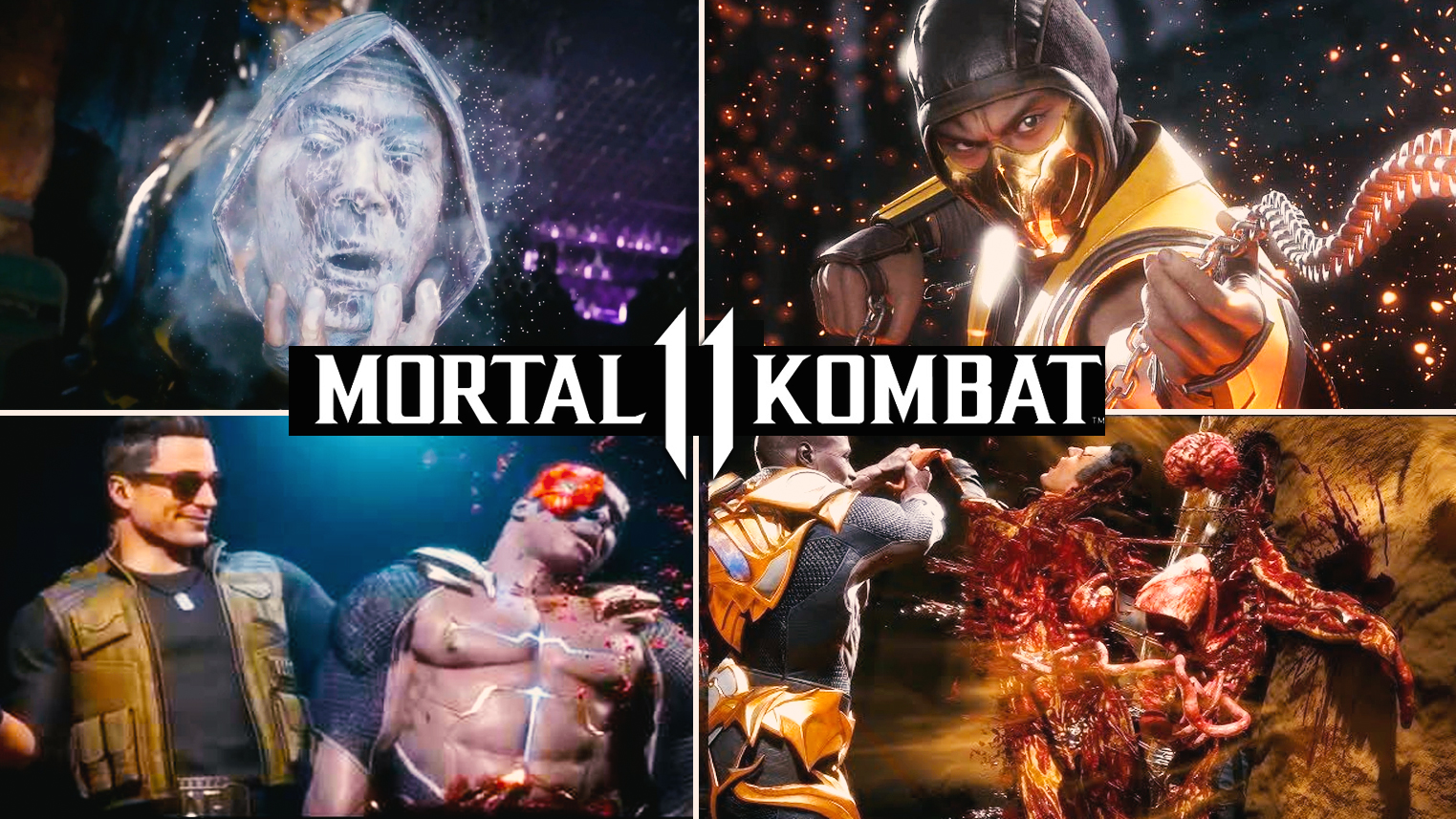 Mortal Kombat 11 - NetherRealm's Favorite Fatalities Gameplay Trailer