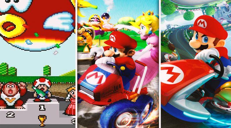 Mario kart Games ( 1992 - 2019 )