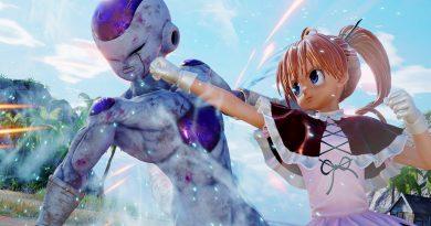 Jump Force DLC Fighter Biscuit Krueger receives her first trailer Seto Kaiba, All-Might, DLC pack Releasing Next Week