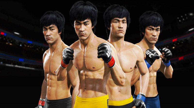 Evolution of Bruce Lee in Games ( 1984-2019 ) & Characters Based on Bruce Lee 李小龙)