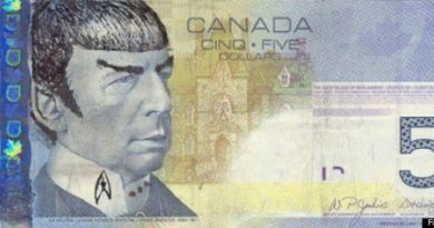 BANK OF CANADA URGES 'STAR TREK' FANS TO STOP 'SPOCKING' THEIR BANK NOTES