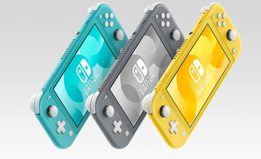 New Nintendo Switch Lite console a smaller cheaper handheld device