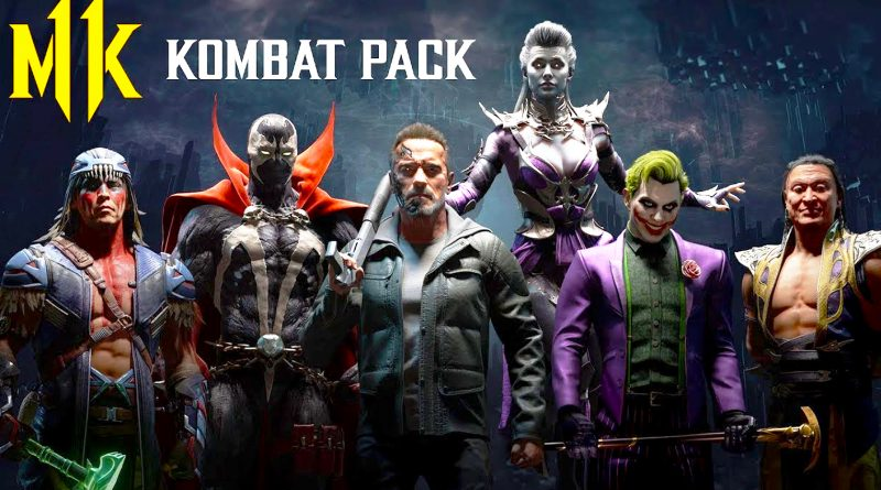 Mortal Kombat 11 : Dlc pack Reveals New Fighters Including : Terminator, Joker, Spawn
