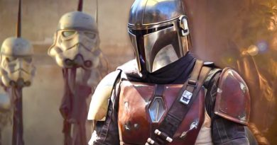 Star Wars TV series The Mandalorian has arrived.